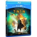 Tintin dvd Filmer The Adventures of Tintin: The Secret Of The Unicorn (Blu-ray 3D + Blu-ray + DVD + Digital Copy) [2012] [Region Free]